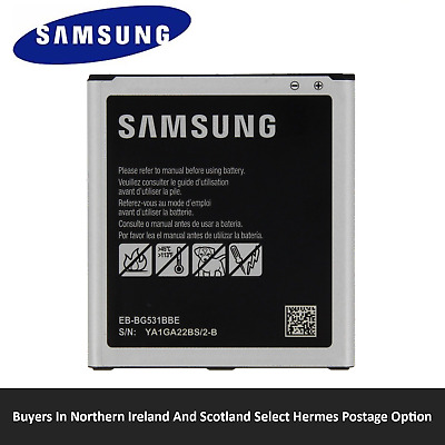 NEW SAMSUNG REPLACEMENT BATTERY FOR GALAXY J5/ J3/  J2 PRIME/GRAND PRIME 2600mAh