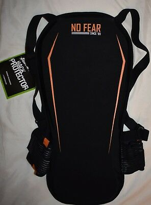 No Fear Soft Back Protector Black