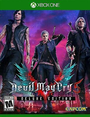 Devil May Cry 5 DELUXE EDITION (XBOX ONE ACCOUNT) / 5mins on email