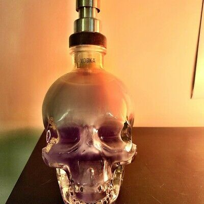 Genuine Crystal Head Vodka Bottle Soap Dispenser