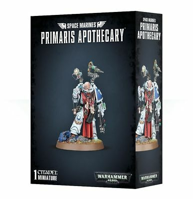 Space Marines Primaris Apothecary - Warhammer 40K - Brand New! 48-60