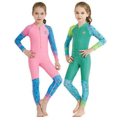 a9736ed923 Kids Wetsuit Long Sleeve Scuba Diving Suit Anti UV Quick-dry Swimsuit Rash  Guard