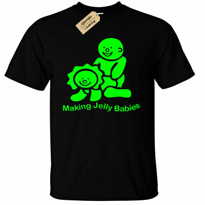 Mens Making Jelly Babies T Shirt Funny rude joke novelty gift tee