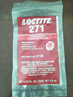 Loctite 271 Threadlocker 27105      V