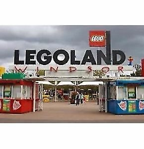 4 x Legoland E Tickets 27.08.18( August School Holidays)