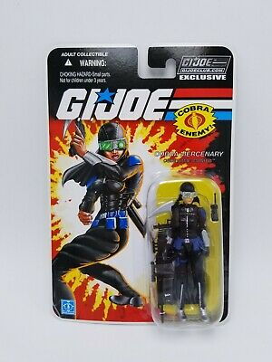 G.I JOE COLLECTOR/'S 6.0 CLUB EXCLUSIVE FSS 25TH CROSSHAIR ACTION FIGURE MOC NEW