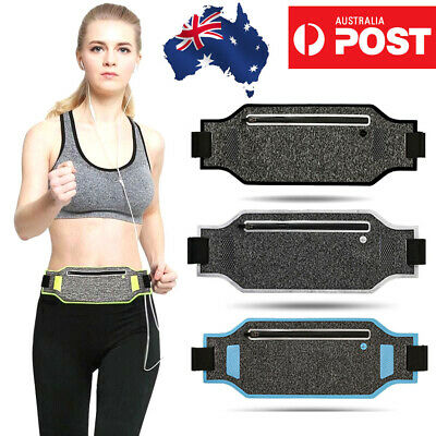 Running Bum Bag Fanny Pack Travel Waist Bags Money Belt Pouch Sports Wallet OZ