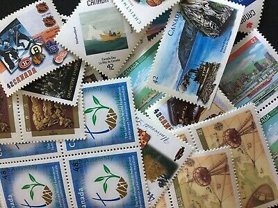 Discounted Canadian Postage Stamp Lot No tax Free shipping Great deal FV $0.9x10