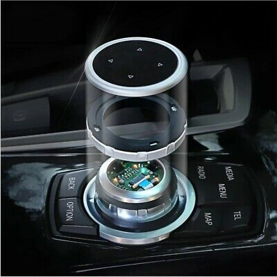 iDrive Car Multimedia Buttons Cover Stickers for BMW X1 X3 X5 X6 F30 E90 F32 F10