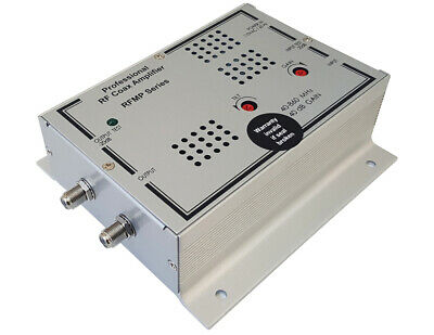Premium Coax RF CATV Signal Distribution Amplifier with High 40dB Gain