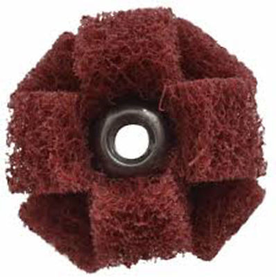 3M-Standard Abrasive Cross Buff Mandrel 6 x 1//4 x 8-32 700143-6 Part Number