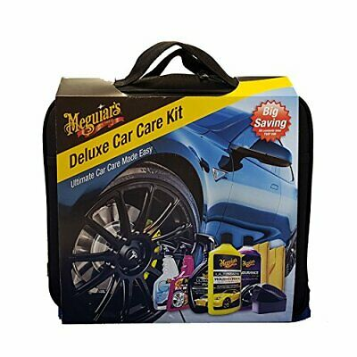 Meguiars Deluxe Car Care Kit (with Valet bag)