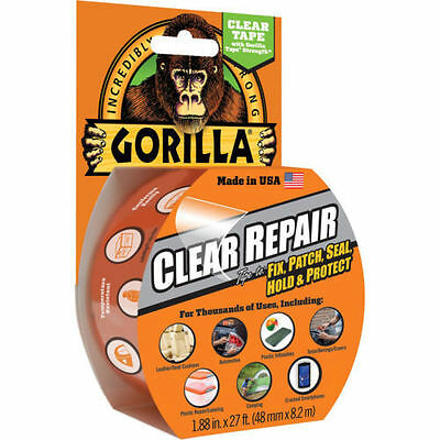 Gorilla Waterproof Repair Tape Clear 48Mmx8.2M