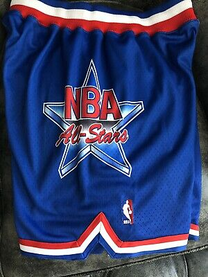 c361c829e50 Mitchell Ness Hardwood Classics 1993 All Star Game Shorts Sz L Authentic  Jordan