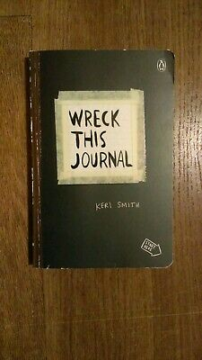 Wreck This Journal by Keri Smith (2012, Paperback)