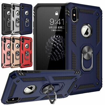 For iPhone 11 Pro XS Max XR X 6s 7 8 Plus Magnetic Phone Case with Bracket Cover