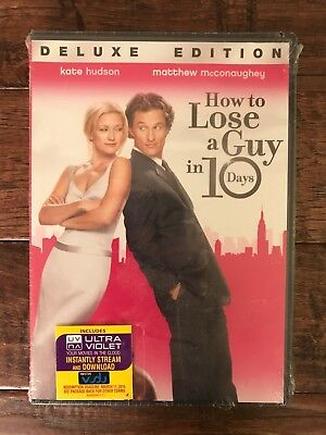 """HOW TO LOSE A GUY IN 10 DAYS"" DVD Movie, (Matthew McConaughey), NEW! SEALED!"