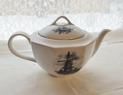 V Delft Handcrafted In Holland Tea Pot Ter Steege B