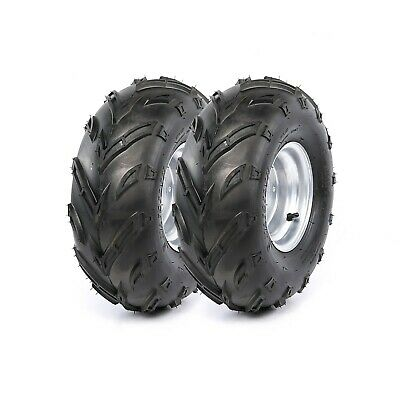 2Pcs 16x8-7 Rear Front Wheel Rim Tyre Tire ATV Go Kart 16/8-7 50 70 90 110cc