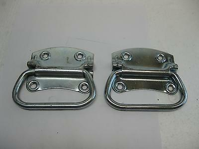 """Lot Of 4 Stanley 333-380 SP1205 3-1//2/"""" Chest Handle Zinc Plated  Weatherguard"""