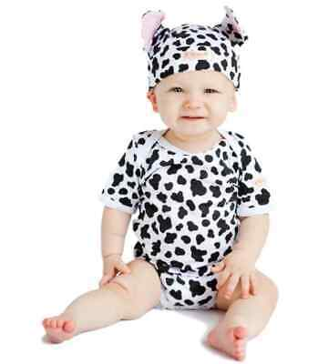 Cow Print Baby Outfit 2 Piece by Noo Designs