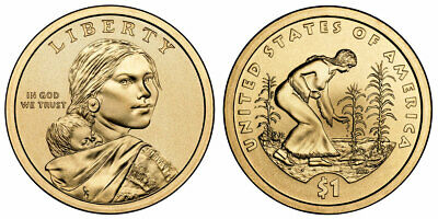 One dollar Coin : 2006 P&D Native American Indian Sacagawea FREE SHIPPING
