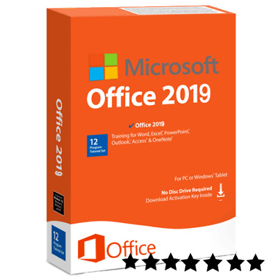 Office 2019 Professional Plus Clave de producto original 32/64 bit por Windows
