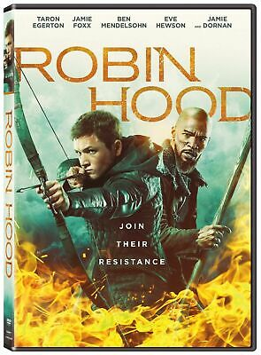 Robin Hood (New Sealed,2019,dvd,release) Join The Resistance,free Shipping...