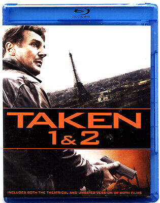 Taken 1 & 2 - GREAT Movies in Blu-Ray BRAND NEW SEALED 1 lot 12 pcs @ $2.00 each