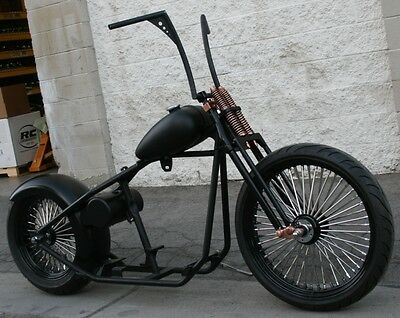 2019 Custom Built Motorcycles Bobber  MMW COPPER HEAD OLD SCHOOL OG 200 BOBBER  RIGID 23 FRONT   ROLLING CHASSIS