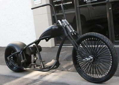 2018 Custom Built Motorcycles Bobber  MMW BIG DADDY BOBBER 300 TIRE , 26 FRONT , SOFTAIL  CHOP BOBBER ROLLING CHASSIS