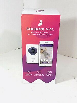 Cocoon Cam Plus - Baby Monitor with Breathing Monitoring SEALED!