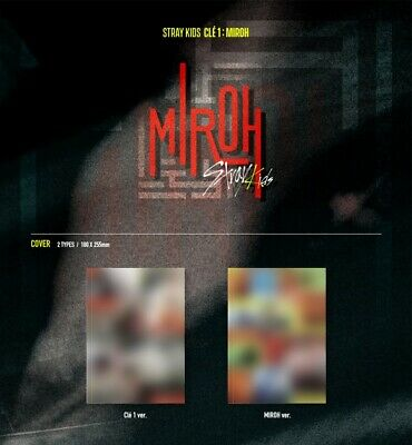 STRAY KIDS [Clé 1 : MIROH] NORMAL ver. FULL PACAKGE+P. BENEFIT+TRACKING, SEALED