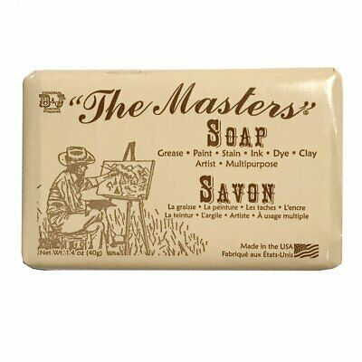 The Masters Artist Soap for Hands and Paint Brushes - Small 40g