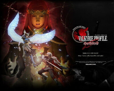Valkyrie Profile: Covenant of the Plume - [Flyers]