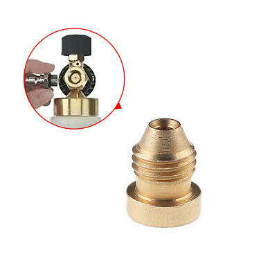 1x Great Brass Foam Cannon Orifice Nozzle Tips Thread Nozzle For Snow Foam Lance