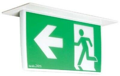 Stanilite NEXUS LX LEGEND LED EXIT SIGN STAPLRNXSLED Recessed Mount Pictograph