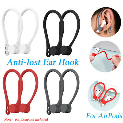 For Apple AirPods Silicone Wireless Earphone Accessories Protector Earhooks-