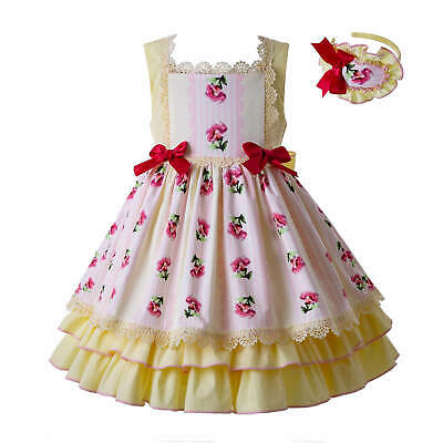 Flower Toddler Girls Summer Easter Dress Ceremony Party Pageant Holiday Outfits