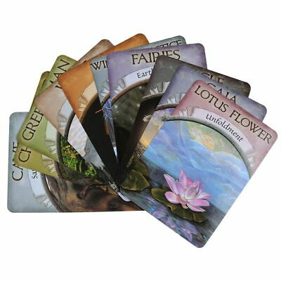 Earth Magic Oracle Cards 48-Card Deck by Steven D. Farmer English Party Friends