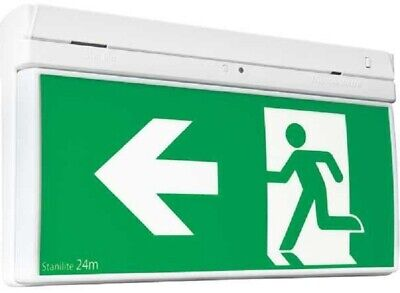 Stanilite EXIT LED QUICKFIT PICTOGRAPH STAPQFLED 379x72x232mm 3.6W Polycarbonate