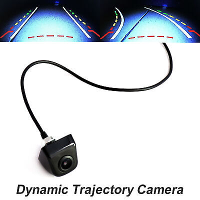 CCD Wired Rear Tailgate Dynamic Trajectory Rearview Car Camera Moving Guidelines