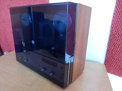 REVOX A 77 Rare seen model with metal frontplate incl hood. Fully recapped.