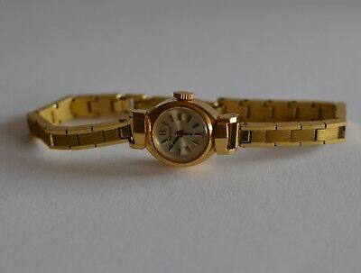 Women's Seiko 17 Jewels Gold Filled Manual Watch SN:7N01160 - Tested Working Exc