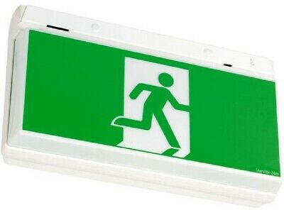Stanilite QUICKFIT MAINTAINED PICTOGRAPH EXIT 10W Double Sided, Surface Mount