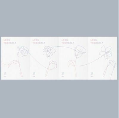 BTS - LOVE YOURSELF 承 'HER,' 5th Mini Album: CD+PHOTOBOOK+STICKER, SEALED