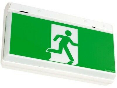 Stanilite QUICKFIT MAINTAINED RUNNING MAN EXIT PICTO 10W Double Sided, Acrylic