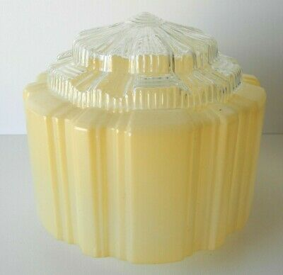Vintage Mid Century Retro Light Shade Art Deco