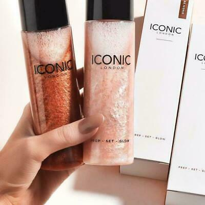 2019 New Iconic London Prep Set Glow Face Spray Makeup Beauty Skin Care Boxed
