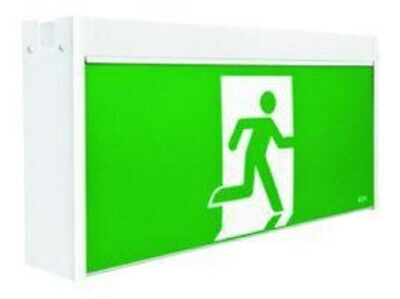 Stanilite JUMBO LED MAINTAINED EXIT SIGN 615x123x310mm SS Picto>-Wall Or Ceiling